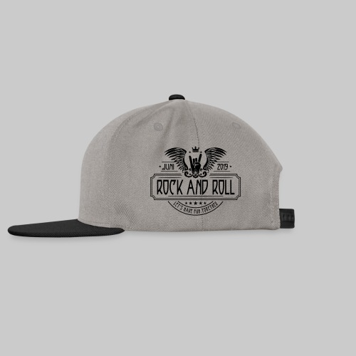 Rock and Roll - Snapback Cap