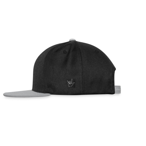 rock n roll sign - Casquette snapback