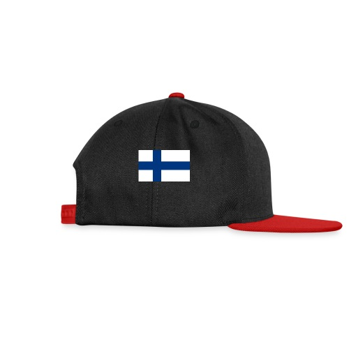 800pxflag of finlandsvg - Snapback Cap