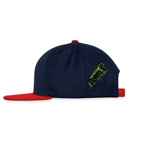Team3P farbig für tranparenten HELLEN BACKGROUND - Snapback Cap