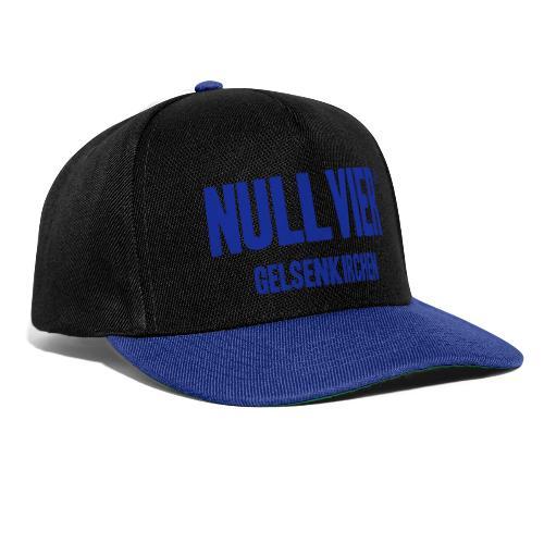 NULLVIER BLUE - Snapback Cap