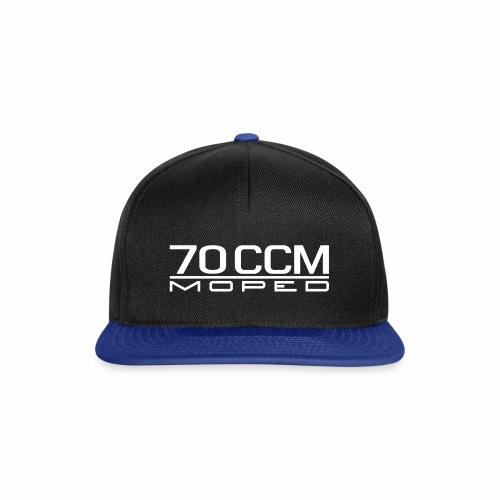 70 ccm Moped Emblem - Snapback Cap