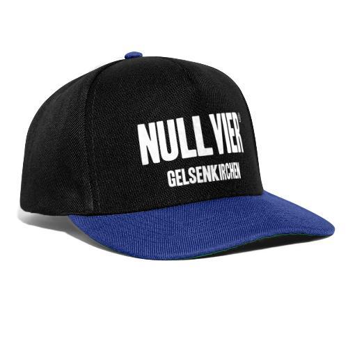 NULLVIER WHITE - Snapback Cap