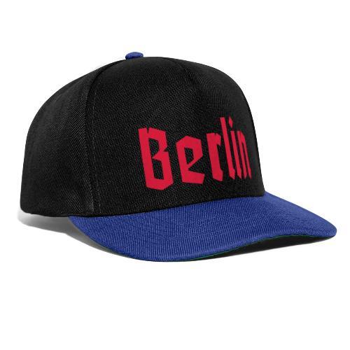 BERLIN Fraktur - Snapback Cap