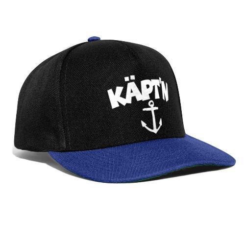 Käpt'n Anker Segeln Segler Kapitän - Snapback Cap