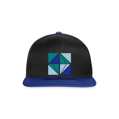 Graphic vierkant diamant - Snapback cap