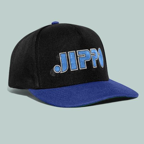 JIPPO LOGO (blue) - Snapback Cap