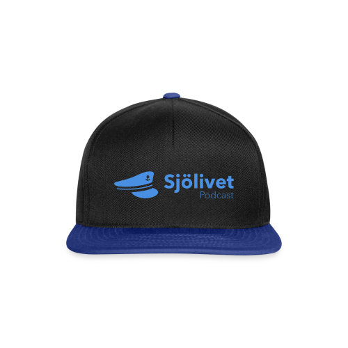 Sjölivet podcast - Svart logotyp - Snapbackkeps