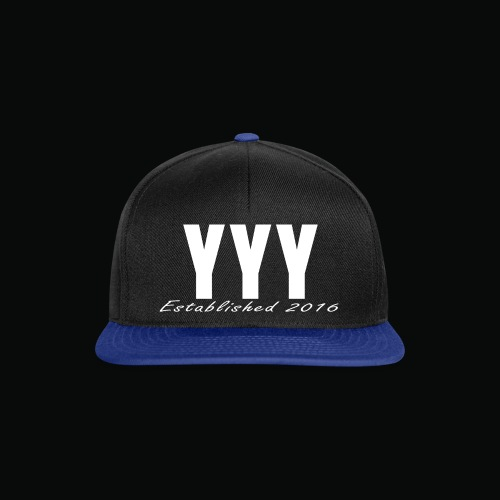 'Snapback Edition' YYY Apparel Design - Snapback Cap