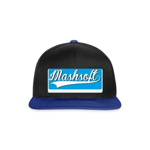 Mashsoft Retro Logo - Snapback Cap