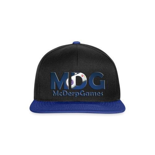 MDG McDerpGames - Snapback cap