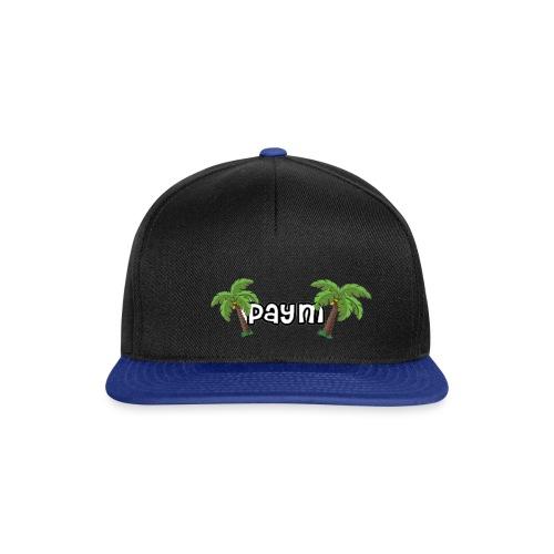 Paym Schrift mit Palmen - Snapback Cap