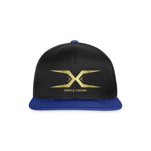 Triple Cross - Snapback Cap