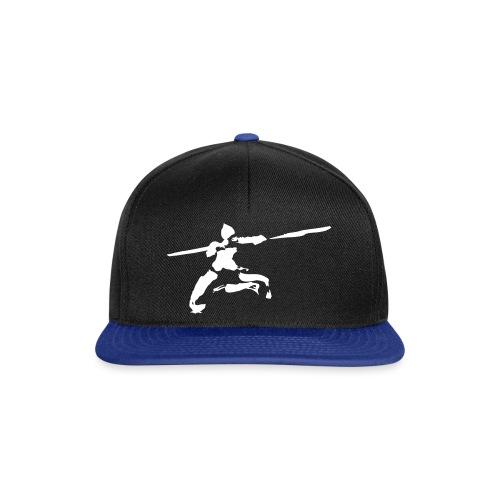 Kungfu stick fighter / ink - Snapback Cap