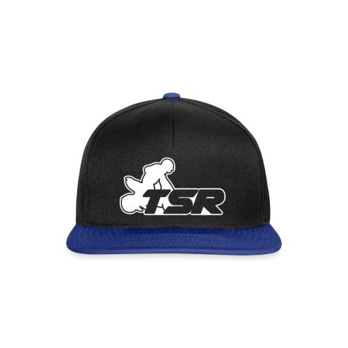 Logo TSR Blanc - Casquette snapback
