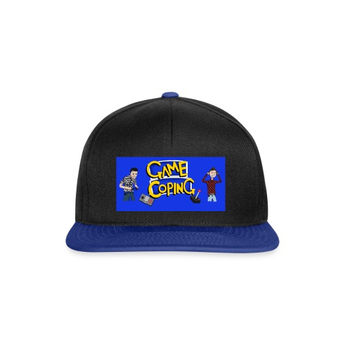 Game Coping Angry Banner - Snapback Cap