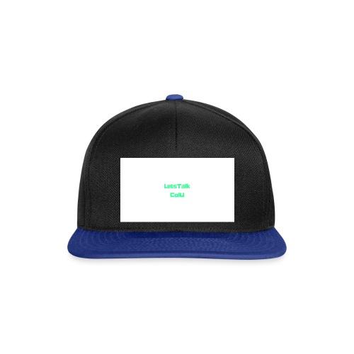 LetsTalk ColU - Snapback Cap
