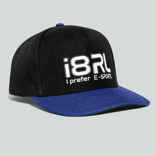 i8RL - I prefer e-sports - Casquette snapback
