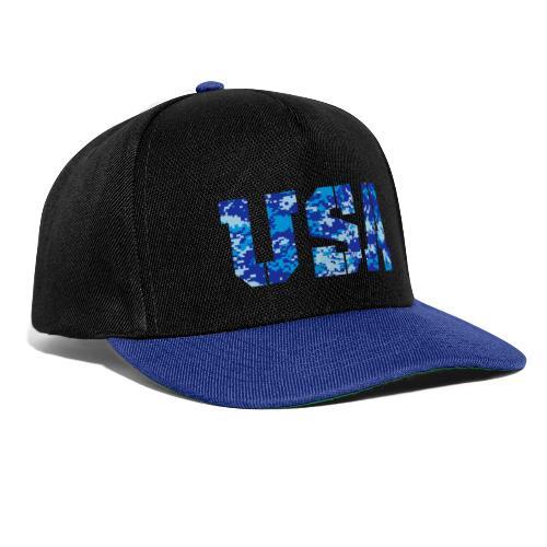 USA digital camo - Snapback cap