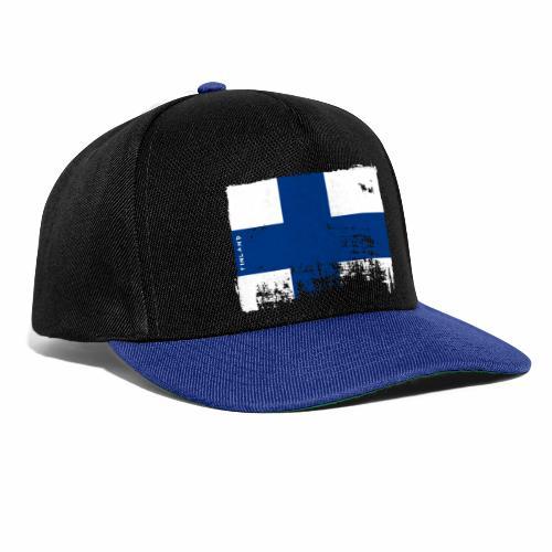 Suomen lippu, Finnish flag T-shirts 151 Products - Snapback Cap