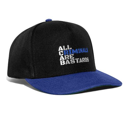 ACAB Citation - Casquette snapback
