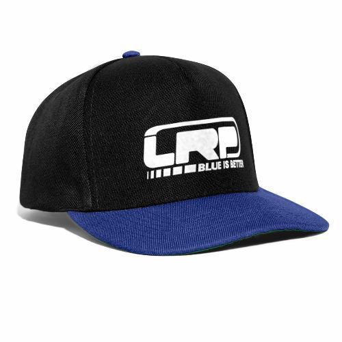 LRP Firmenlogo - Blue is better - White - Snapback Cap