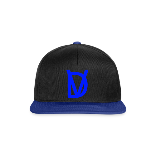 DV blauw - Snapback Cap