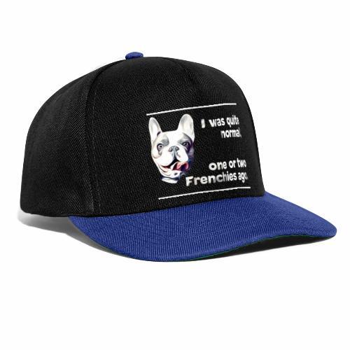 Französische Bulldogge Frenchie french bulldog - Snapback Cap
