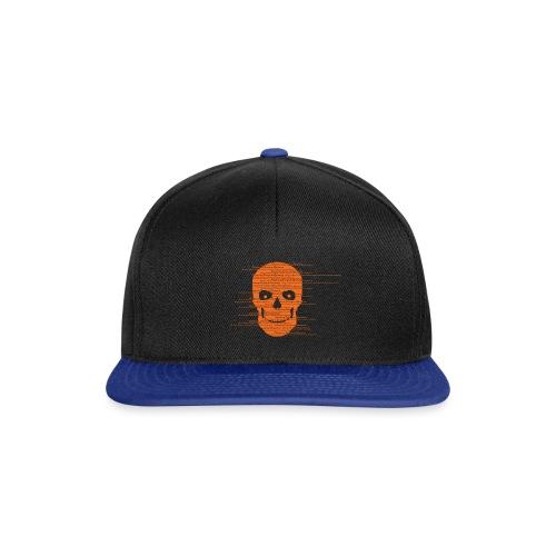 Silverline Skull - Snapback Cap