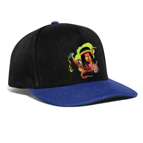 Rasta Krake - Snapback Cap