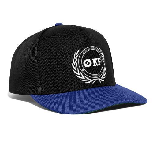 ØKF hvid logo - Snapback Cap