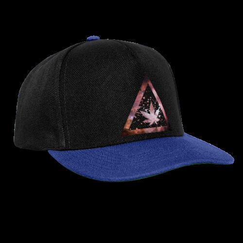 Galaxy Weed Marijuana Triangle Splashes - Snapback Cap