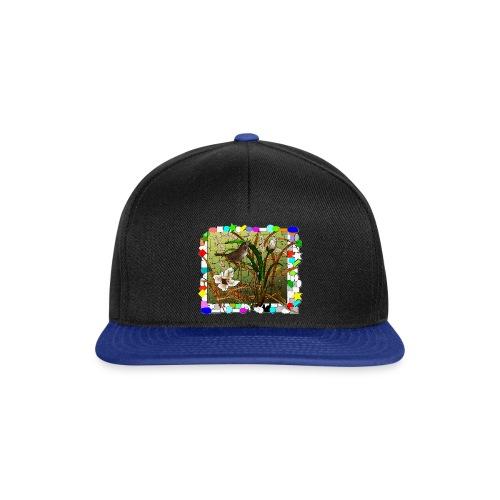 passero vetrata 01 - Snapback Cap