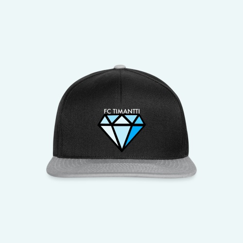 FCTimantti logo valkteksti futura - Snapback Cap