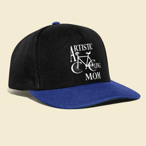 Kunstrad | Artistic Cycling Mom white - Snapback Cap
