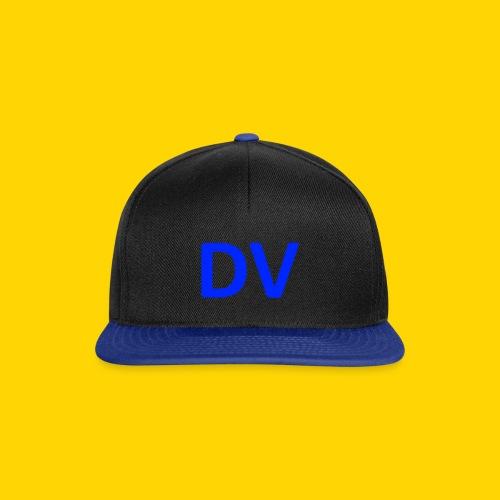 DV dik blauw - Snapback Cap