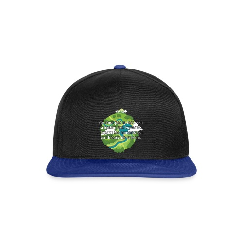 our earth - Snapback Cap