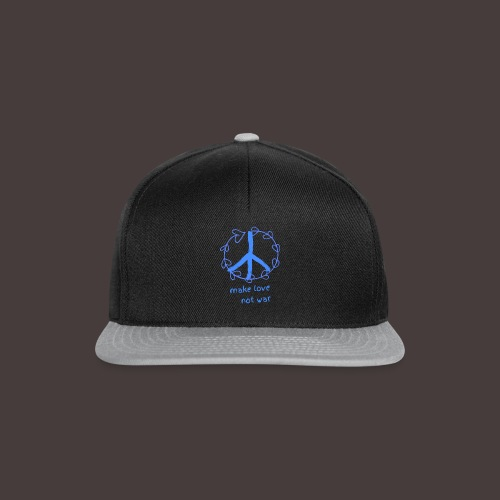 Peace,Frieden,Weltfrieden - Snapback Cap