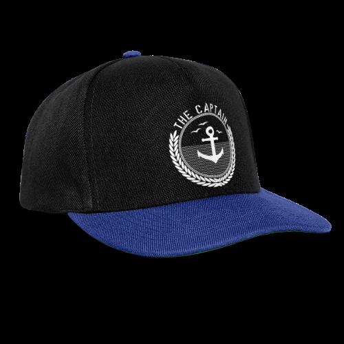 The Captain - Anchor - Snapback Cap