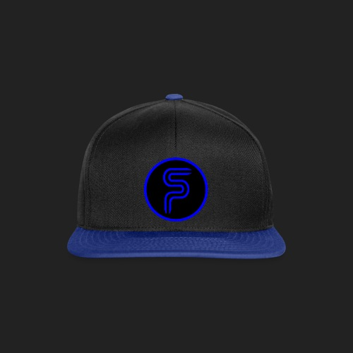 Saberproject Kreis Logo schwarz - Snapback Cap