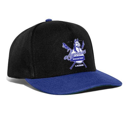 Llamas - Maastricht Lacrosse - Blauw - Snapback cap
