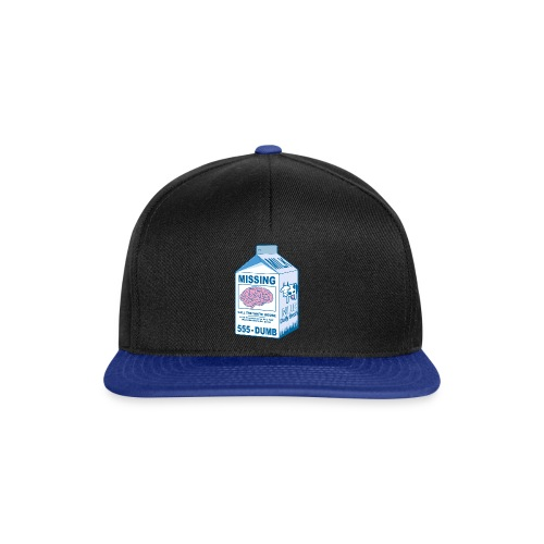 Missing brain - Snapback Cap