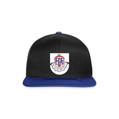 FCE Logo farbig mit Rand2 png - Snapback Cap