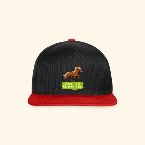 Icelandic horse tölt - Casquette snapback