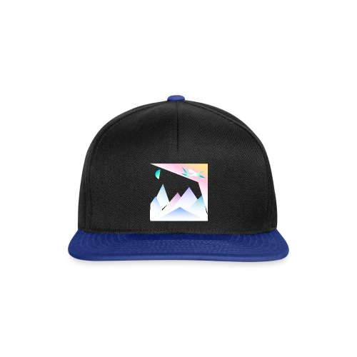 pastel graphic travel - Casquette snapback
