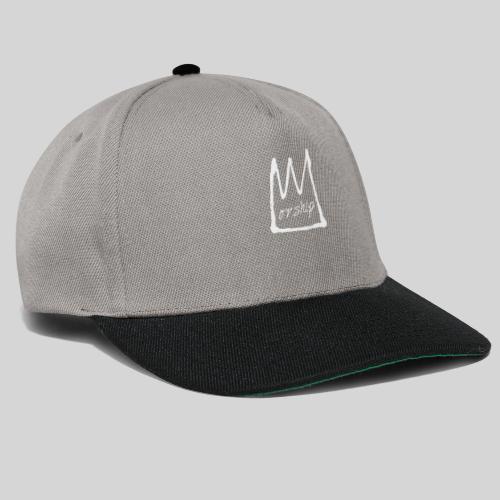 Worship Krone weiß - Lobpreis zu Jesus / Gott - Snapback Cap