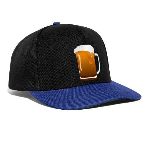 Cartoon Bier Geschenkidee Biermaß - Snapback Cap