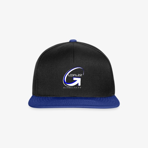 Global22 White - Casquette snapback