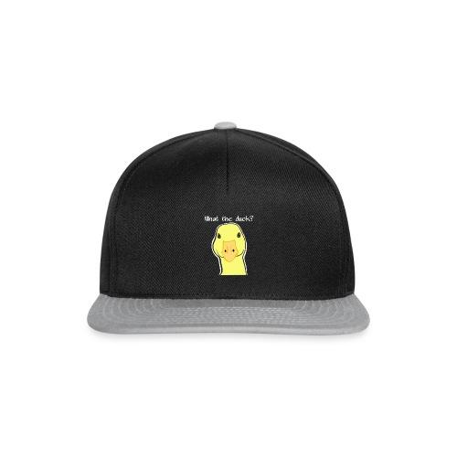 Duck you - Snapback Cap