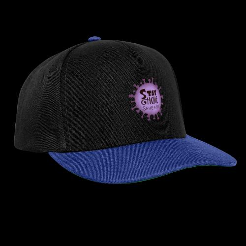 stay at home 3 - Snapback Cap